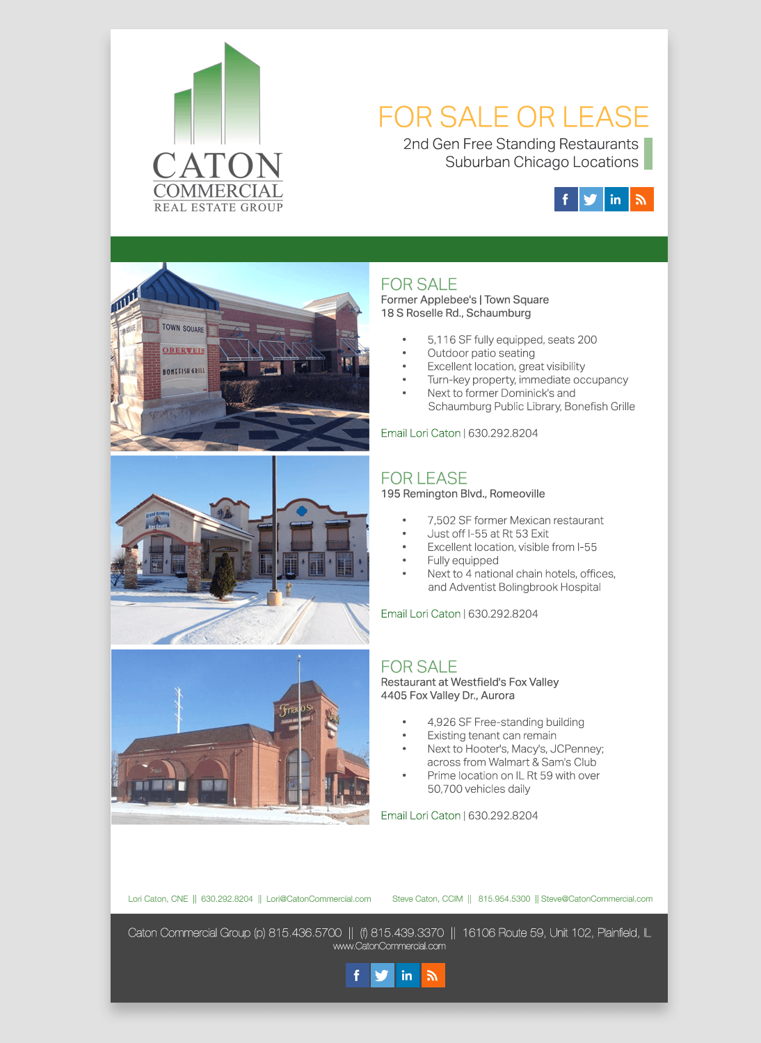 caton-newsletter-design